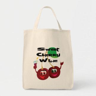 Vino de la cereza dulce bolsa