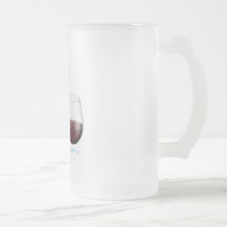 Vino de la cerveza taza de cristal