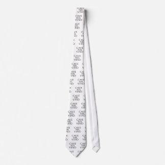 Vino de la nada de la cueva corbata personalizada