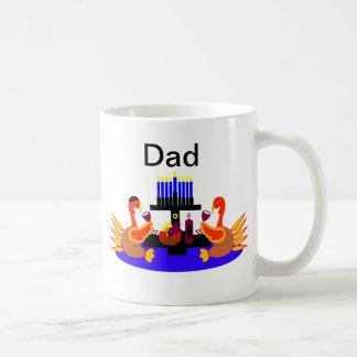 Vino de Thanksgivukkah que tuesta la taza del papá