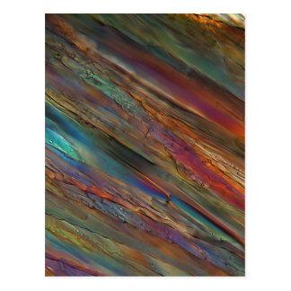 Vino debajo del microscopio - grigio de Pinot Postales