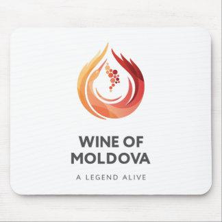 Vino del cojín de ratón del Moldavia Tapete De Ratón