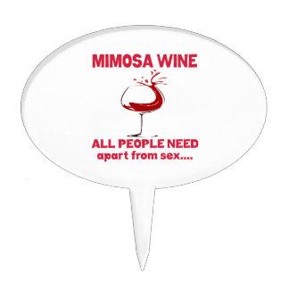 Vino del Mimosa que toda la gente necesita aparte Decoraciones Para Tartas