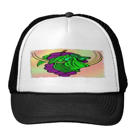 Vino en la vid gorras
