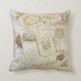 Vino Italiano II Pillow
