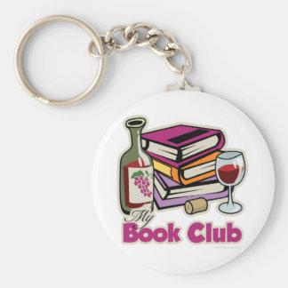 Vino: Mi círculo de lectores Llavero Redondo Tipo Pin