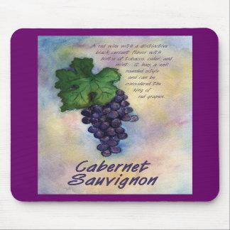 Vino Mousepad de Cabernet-Sauvignon