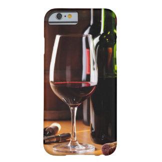 Vino rojo funda de iPhone 6 barely there