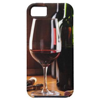 Vino rojo funda para iPhone 5 tough