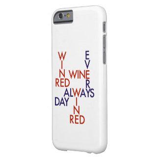 Vino rojo funda barely there iPhone 6