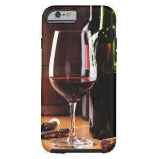Vino rojo funda resistente iPhone 6