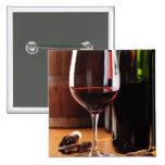 Vino rojo pin
