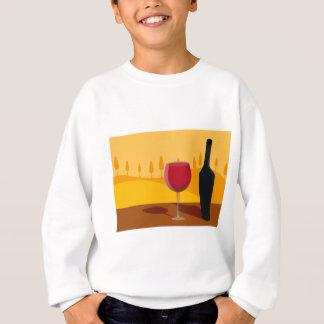 Vino rojo Toscana Sudadera