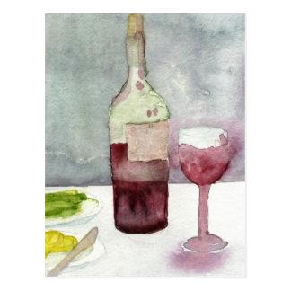 Vino Rosso Postcards