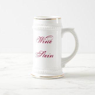 Vino Stein Taza