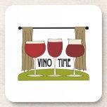 Vino Time Coasters