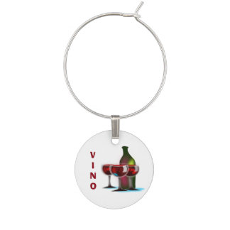 VINO Wine Charm