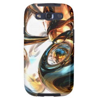 Vino y caja abstracta de la galaxia de Samsung de  Galaxy SIII Coberturas