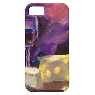 Vino y queso iPhone 5 cárcasa