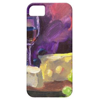 Vino y queso iPhone 5 Case-Mate cárcasas