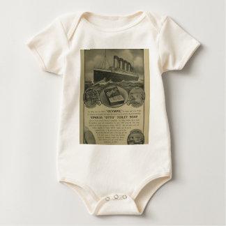 Vinolia Otto Toilet Soap advert Baby Bodysuit
