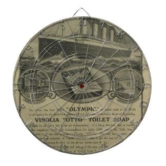 Vinolia Otto Toilet Soap advert Dartboards
