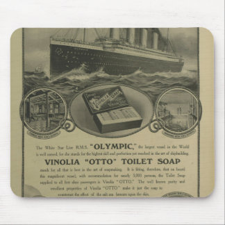 Vinolia Otto Toilet Soap advert Mouse Pad