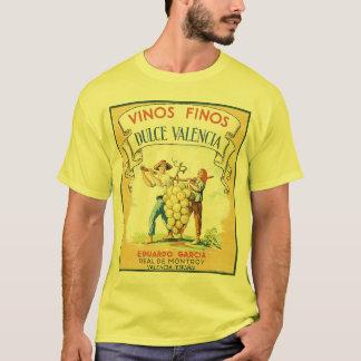 Vinos Finos vintage wine label print Tee Shirt