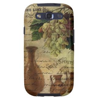 Vins Spiritueux, néctar de dioses Samsung Galaxy SIII Funda