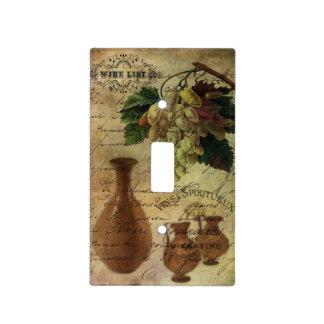 Vins Spiritueux, néctar de dioses Placa Para Interruptor