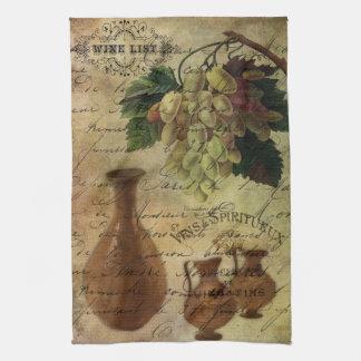 Vins Spiritueux, néctar de dioses Toalla De Mano