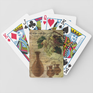 Vins Spiritueux, Nectar of the Gods Bicycle Playing Cards