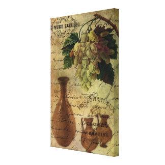 Vins Spiritueux, Nectar of the Gods Canvas Print