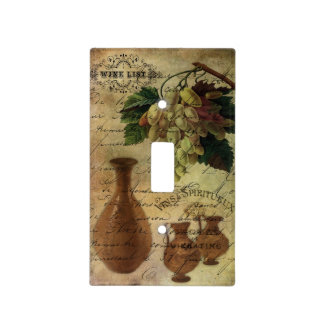 Vins Spiritueux, Nectar of the Gods Light Switch Cover