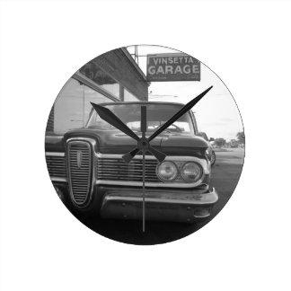 Vinsetta Garage Clock
