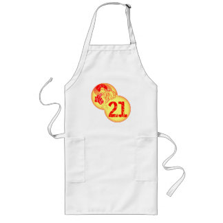 Vintage21st Birthday Gifts Long Apron
