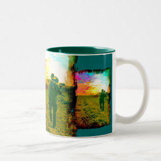 Vintage 027 Two-Tone coffee mug