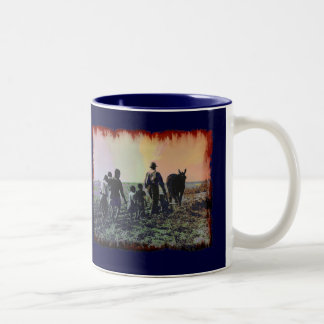 Vintage 036 Two-Tone coffee mug