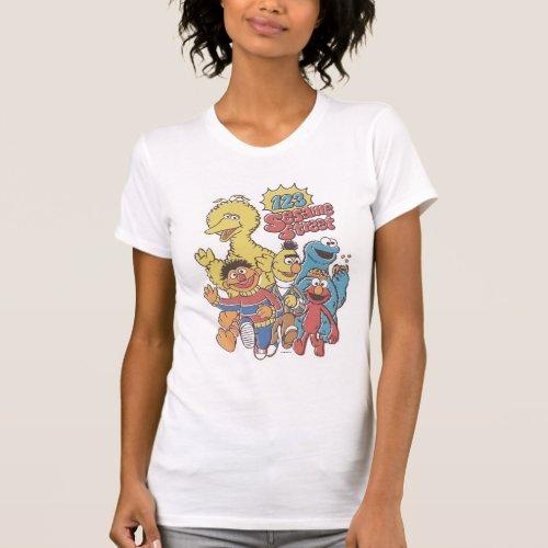 Vintage 123 Sesame Street 2 T_Shirt