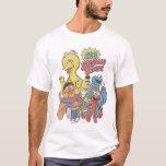 "Vintage 123 Sesame Street 2 T-Shirt<br><div class=""desc"">This fun vintage graphic features all your favorite Sesame Pals; Bert &amp; Ernie,  Elmo,  Big Bird &amp; Elmo.    &#169;  2014 Sesame Workshop. www.sesamestreet.org</div>"
