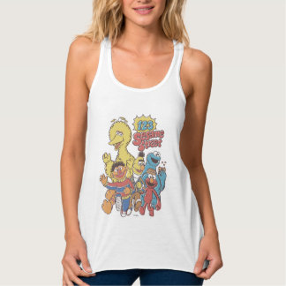 Vintage 123 Sesame Street 2 Tank Top