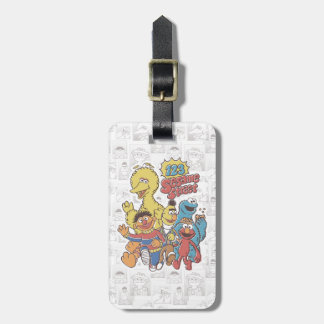 Vintage 123 Sesame Street Bag Tag