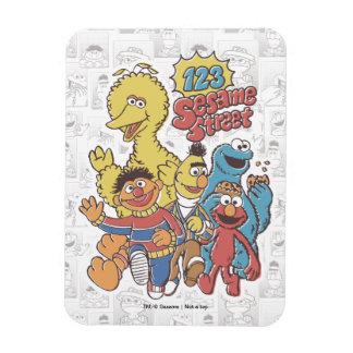 Vintage 123 Sesame Street Magnet