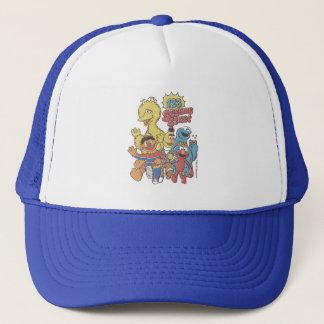 Vintage 123 Sesame Street Trucker Hat