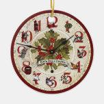 Vintage 12 días de ornamento del navidad adorno de navidad