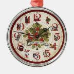 Vintage 12 días de ornamento del navidad adorno para reyes