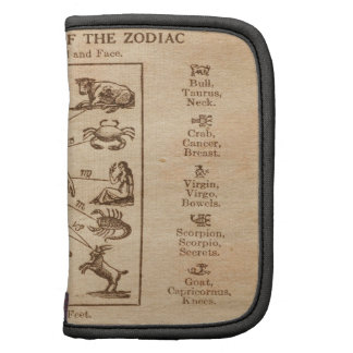 Vintage 12 Signs of the Zodiac Organizers