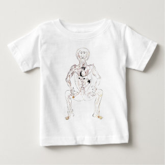 Vintage 13th Century Persian Medical Front Anatomy Baby T-Shirt
