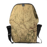 Vintage 1777 American Colonies Map by Phelippeaux Courier Bag