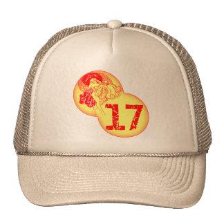 Vintage 17th Birthday Gifts Trucker Hat